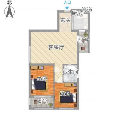济柴家园济柴家园户型图1300685146581_0002室1厅1卫1厨户型2室1厅1卫1厨-副本