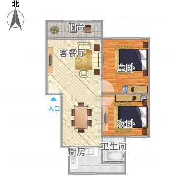 鸿基公寓88平米搜房网马玮绘制18217580681