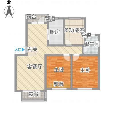 绿地・老街坊绿地老街坊户型3室2厅1卫1厨-副本