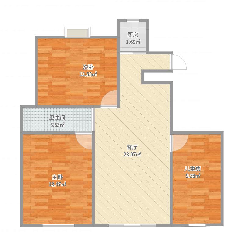三室一厅楼盘风水分析,三室一厅小区房屋风水分析图片