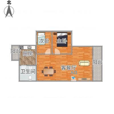 中山_恒基花园三期30栋05户型_2015-12-30-2000