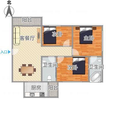 中山_恒基花园三期29栋06户型_2015-12-30-2204