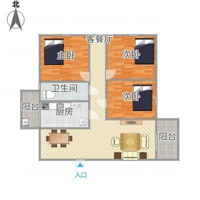 中山_东盛花园1号座504_2015-12-30-0912
