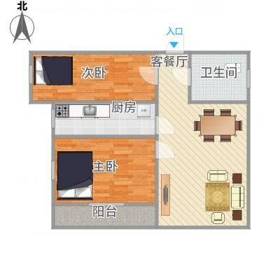中山_东盛花园1号I座303_2015-12-30-1008