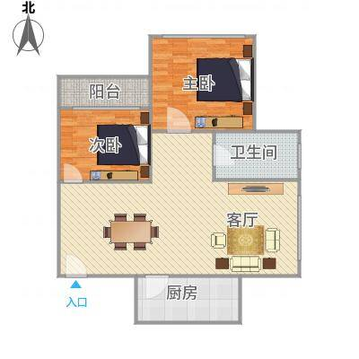天明豪庭9栋02户型