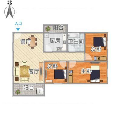 天明豪庭23栋104