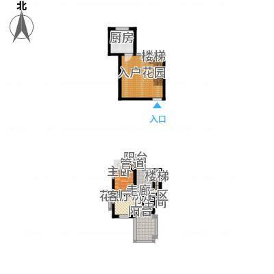 大理王宫80.00㎡户型1室2厅-副本