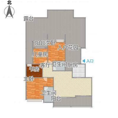 香山美地15、16栋H1户型143