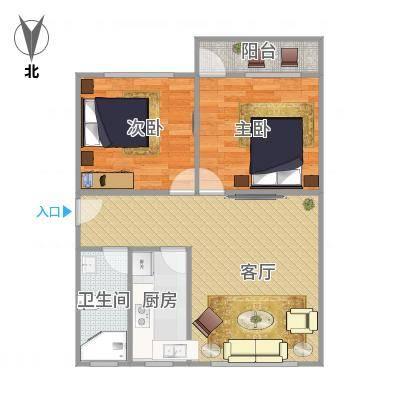 广州_光机电小区五楼户型图_2016-01-01-1148
