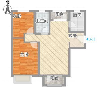 秦皇岛华润橡树湾二期11#毛坯M户型-副本