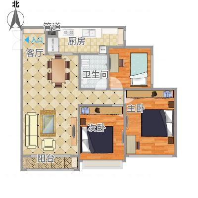 重庆_协信中心_5-22-1平面布置
