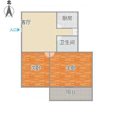 梅花二村的户型图