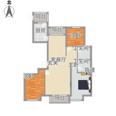 公园壹号135.00㎡c4-2户型3室2厅2卫1厨-副本