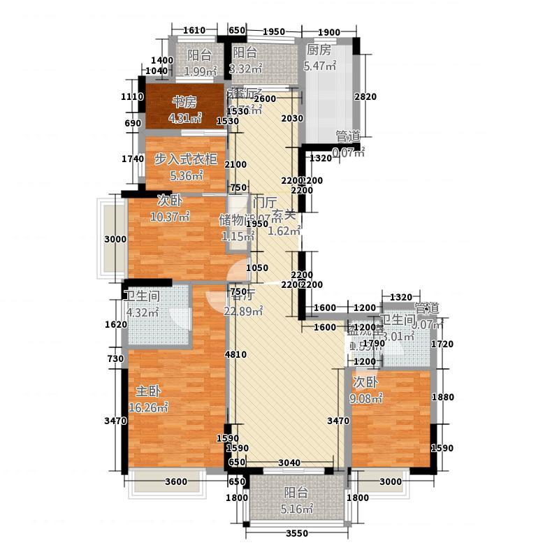 居住小区圆形塔楼户型图