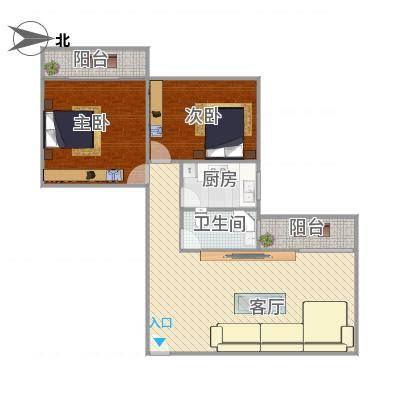广州_嘉尚国际公寓89好02户型图_2016-01-08-1937