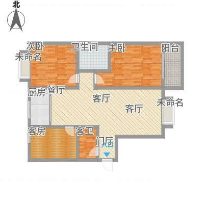 140方三室两厅一厨一卫