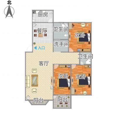 145平方3室2厅2卫-副本