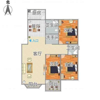 145平方3室2厅2卫-副本-副本
