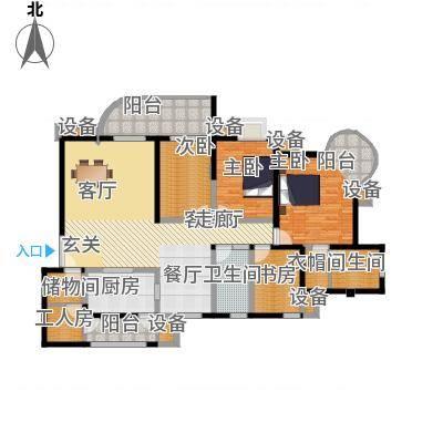 帝景名苑157.81㎡面积15781m户型-副本