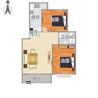 浦江世博家园十一街坊户型图-副本