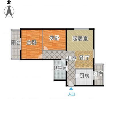 望陶园116.80㎡户型-副本