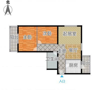 望陶园116.80㎡户型-副本-副本
