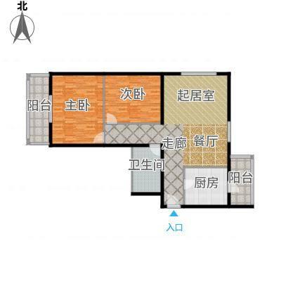 望陶园116.80㎡户型-副本-副本-副本