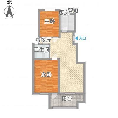 江南雅苑7#楼C户型-副本