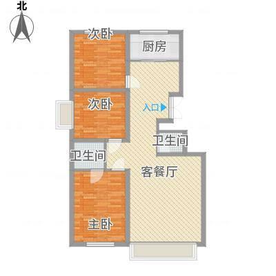 万达小区万达小区户型图3室2厅13室2厅1卫1厨户型3室2厅1卫1厨-副本
