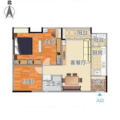 重庆_华欧理想城(完整)-设计师方案一