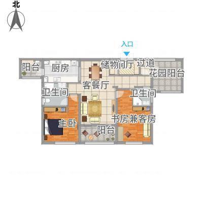 长沙万科紫台120