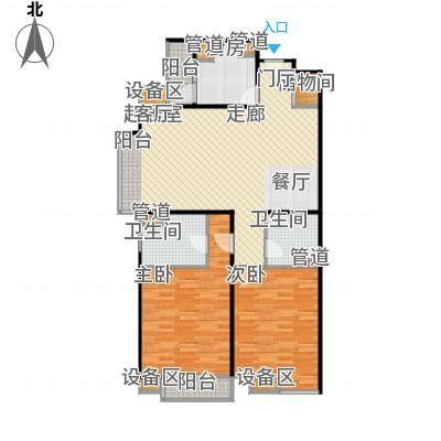 东润枫景124.03㎡东润枫景124.03㎡户型10室-副本
