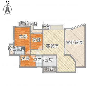 康乐新村140.00㎡康乐新村3室户型3室-副本