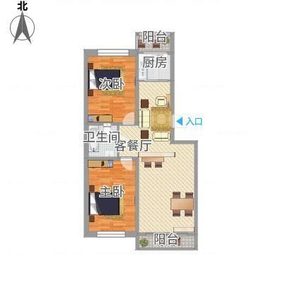 新苑小区99.18㎡新苑小区99.18㎡2室2厅1卫户型2室2厅1卫-副本
