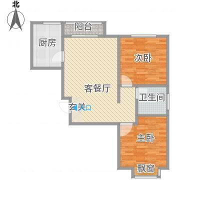 宝带新村71.00㎡宝带新村2室户型2室-副本-副本