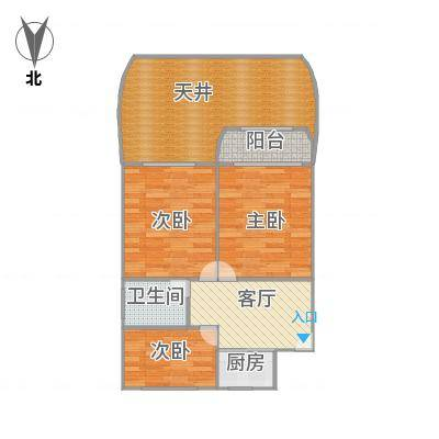 田林十四村户型图-副本