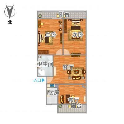 石家庄-宁安小区-102.26平