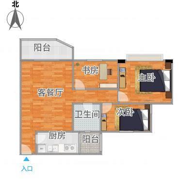 广州_祈福新村绿怡居3室83.3方_2016-01-17-1