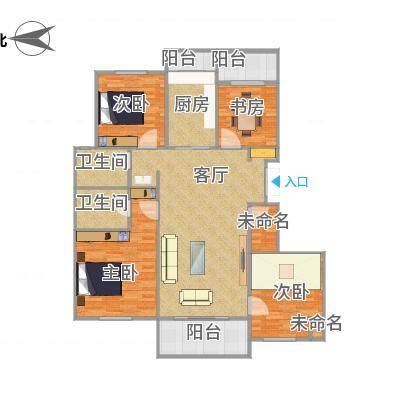 西溪华东园的户型图H8