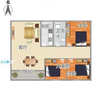 中山_东盛花园25号B座501