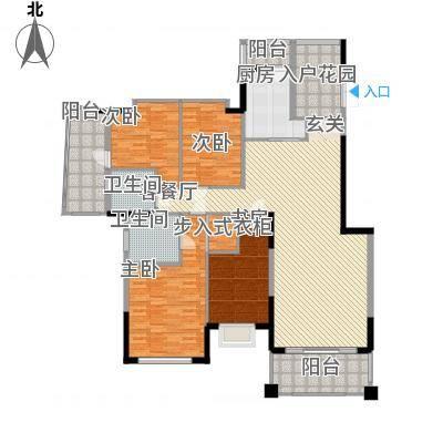 汇景豪庭176.32㎡汇景豪庭4室2厅户型4室2厅-副本