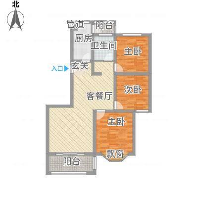 嘉隆・水韵风情一期5、6、7号楼高层B户型