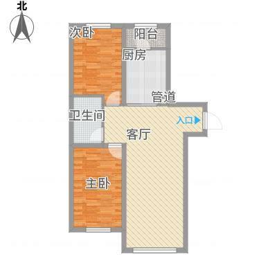 明光水岸57.52㎡明光水岸户型图3号楼户型92室1厅1卫1厨户型2室1厅1卫1厨-副本