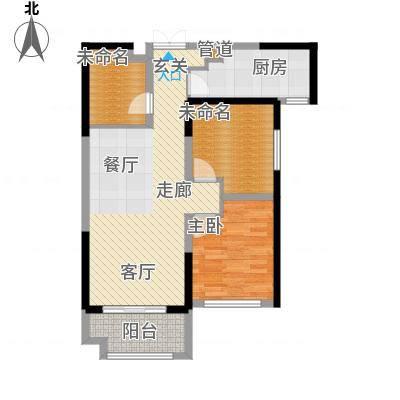 紫薇东进93.00㎡二期1#2#4#5#6#楼B户型-副本