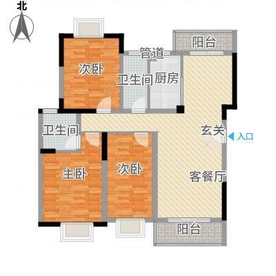 万科松山湖1号 3室 户型图-副本