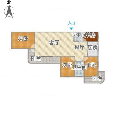 繁荣广场I期之四永徽阁02户型
