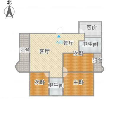 繁荣广场I期之六永淳阁07户型