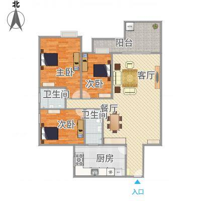中山_汇星豪庭8栋203_2016-01-27-1716