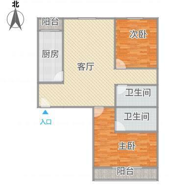 北京_大兴区幸福家园-97M两居两卫_2016-01-29-0053