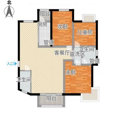 金水湾金水湾户型图户型图3室2厅1卫1厨户型3室2厅1卫1厨-副本